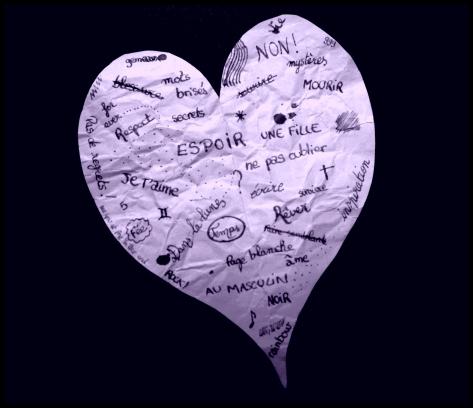 Coeur De Papier (Violet 2)